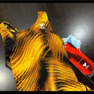 TYR Swim - TYR Girl Swimsuit Asst Maxback Prints Size 22